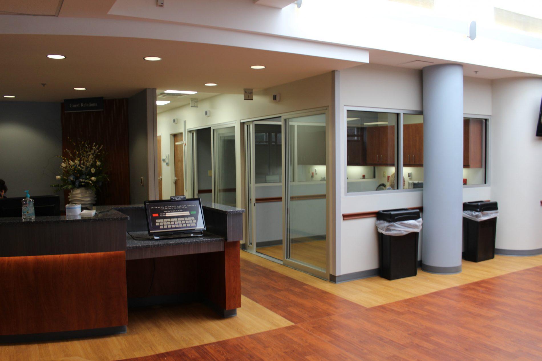 Jefferson Regional Medical Center Emergency Room Addition/Renovation/ES