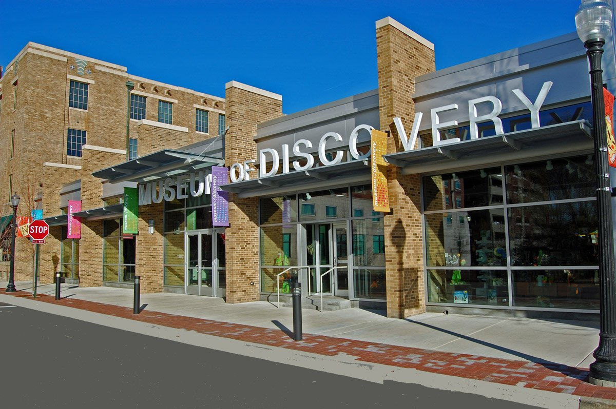 Museum of Discovery | Donald W. Reynolds Science Center