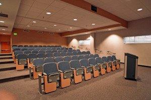 Remington College Auditorium Seating in Classroom