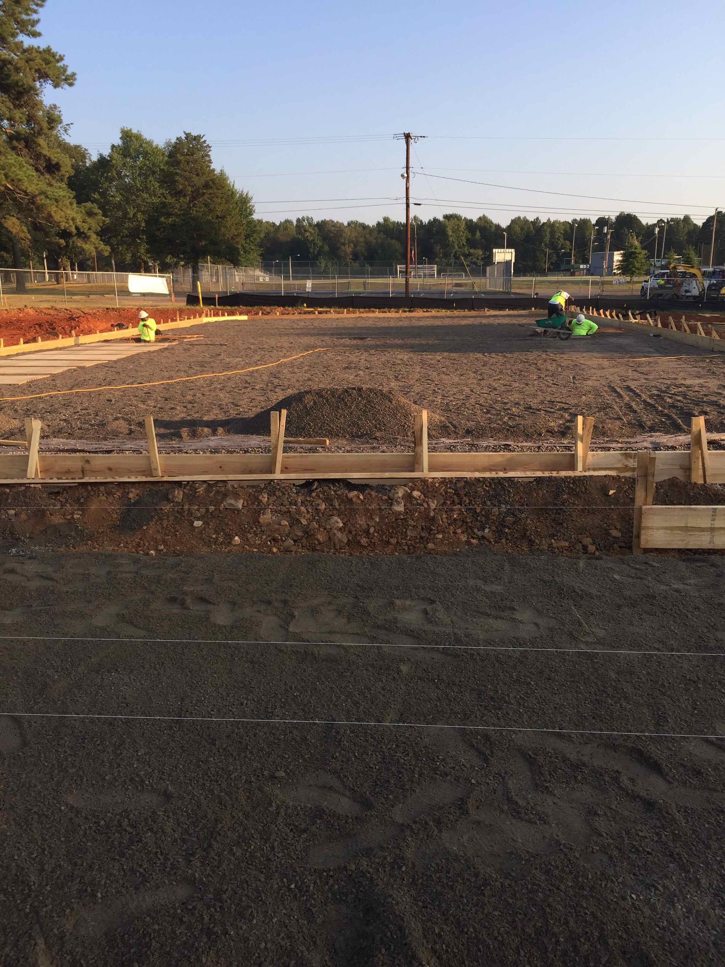 East Harding Construction-University of the Ozarks Tennis Courts