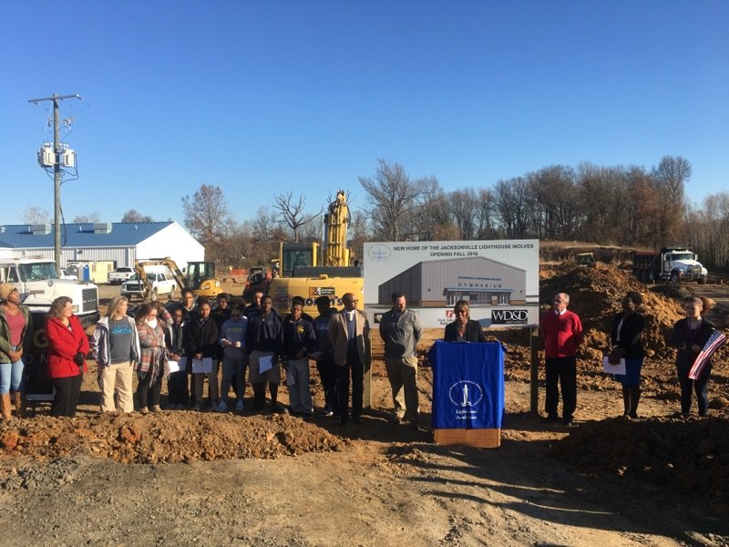 Lighthouse Academies Groundbreaking Ceremony