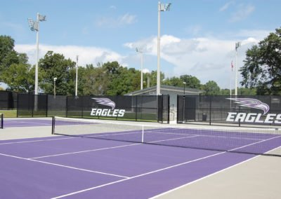 University of the Ozarks - Athletics Phase I - Tennis Courts/ES