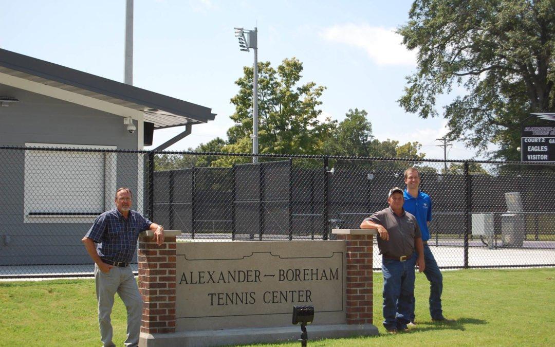 University of the Ozarks – Athletics Phase I – Tennis Courts