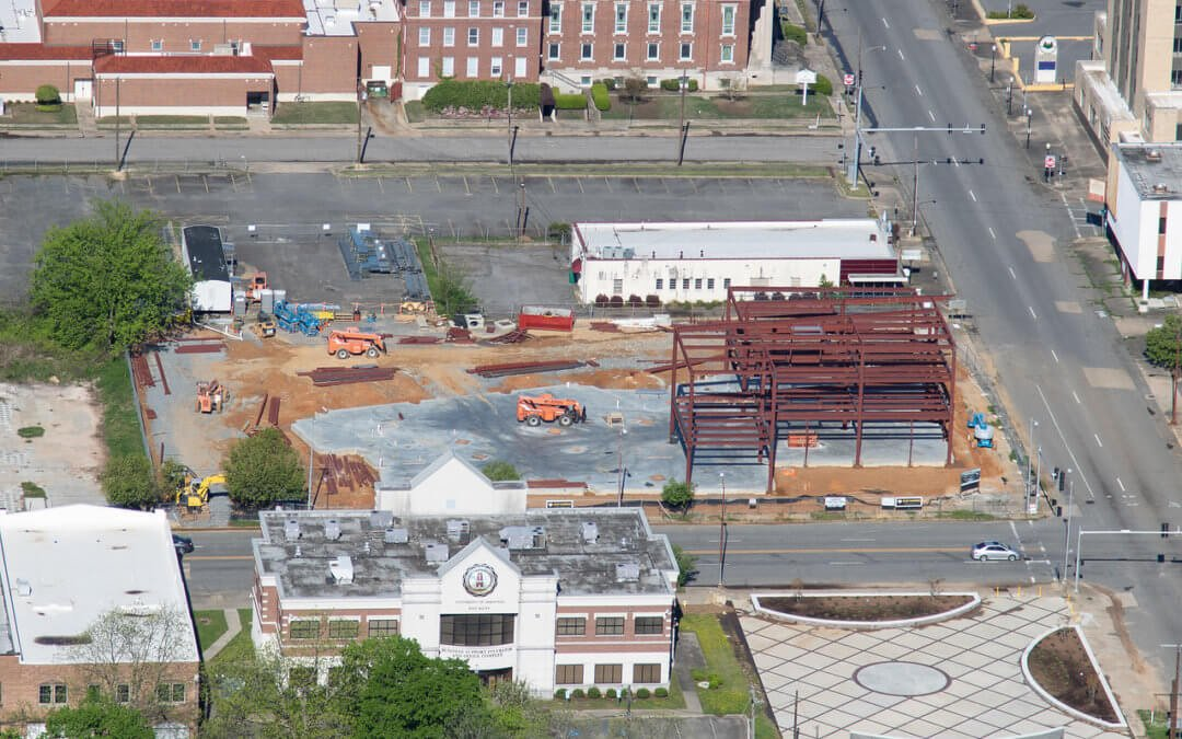 Photo Update! Pine Bluff Main Library – New Aerial Photos
