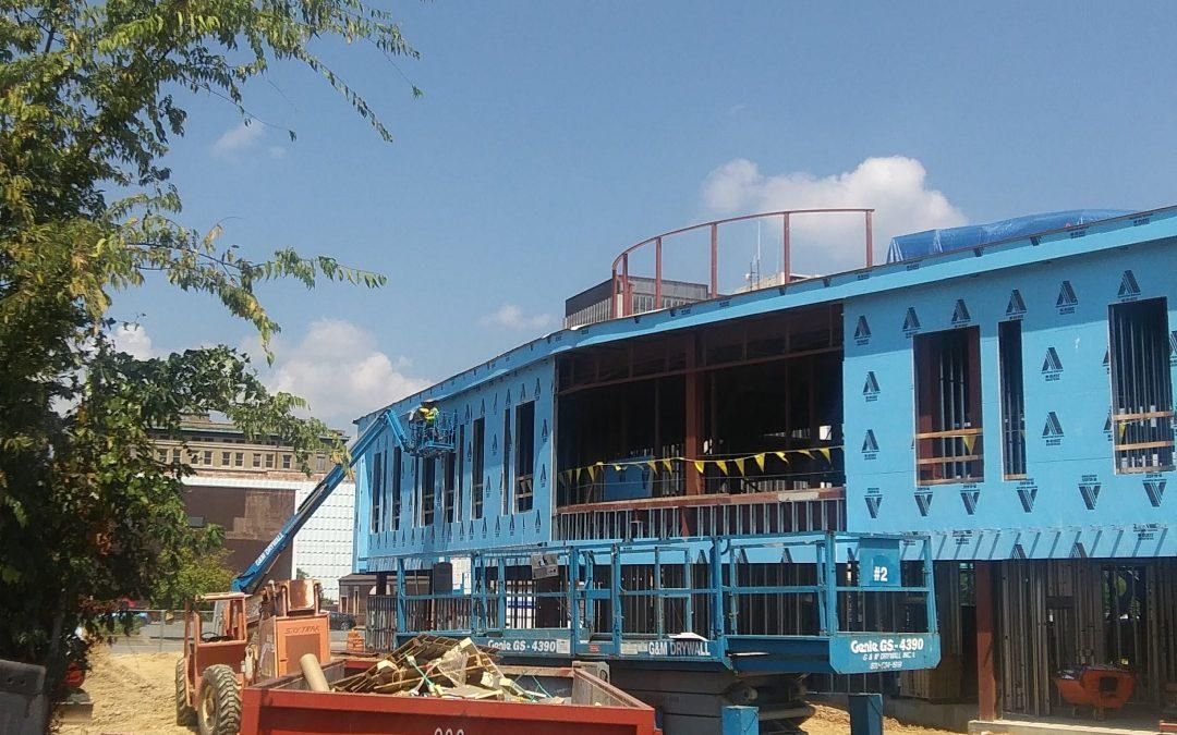 Pine Bluff Main Library Progress Update…