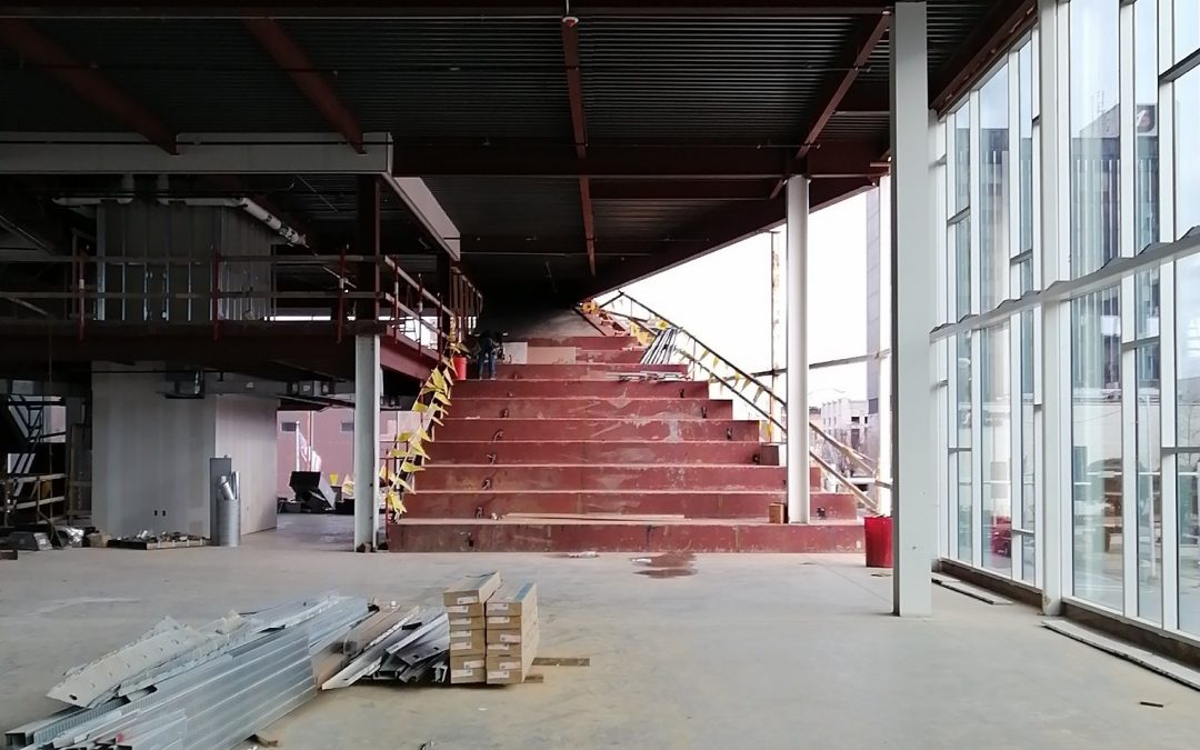 Pine Bluff Main Library-Learning Stairs