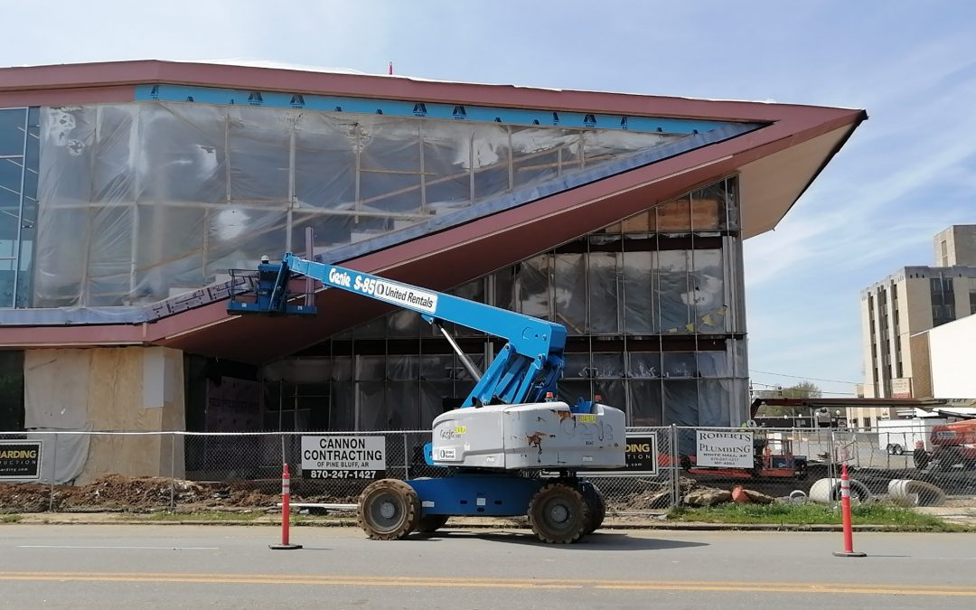 Project Update-New Pine Bluff Main Library