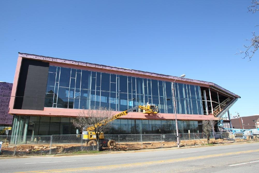 Pine Bluff Main Library Takes Shape…