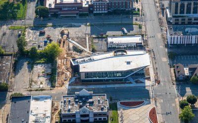 Pine Bluff Main Library-Aerial Photos
