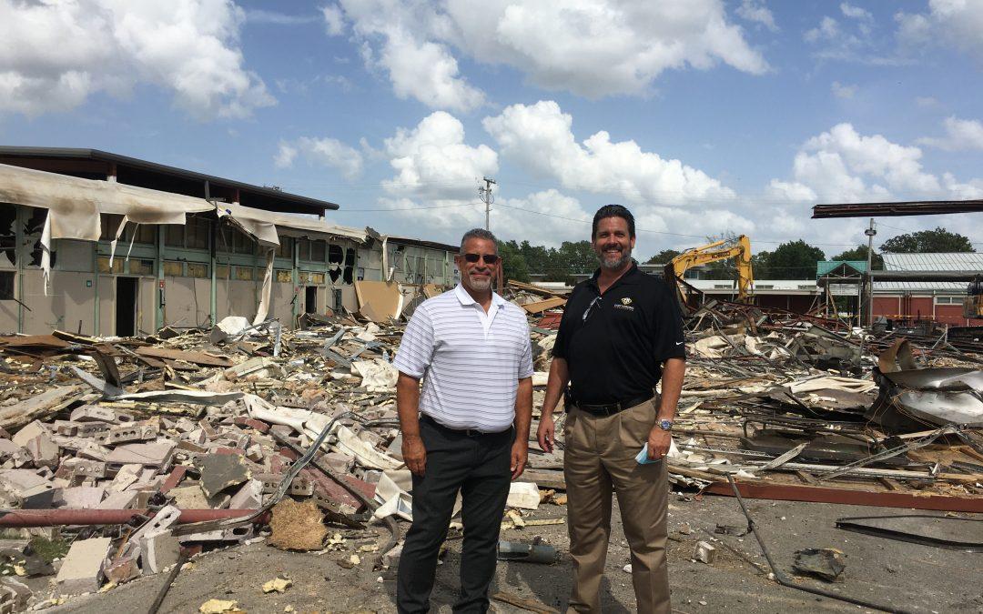 SEARK College | Demolition of General Studies Buildings